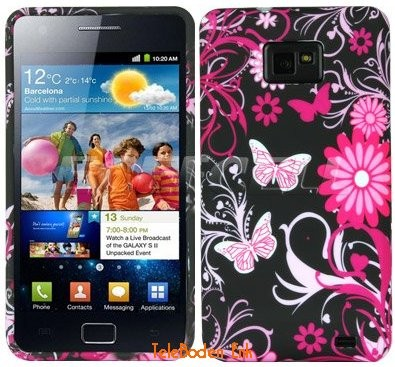 Flexi Shield Skin Samsung Galaxy S II, *Decor design*