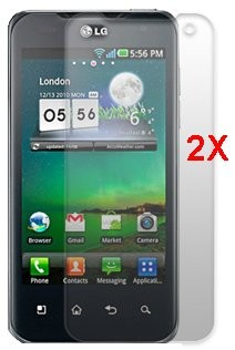 Screen Protector LG P990 (Optimus 2X), 2pack