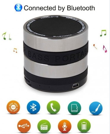 Bluetooth Super Bass Speaker BeatBox A6