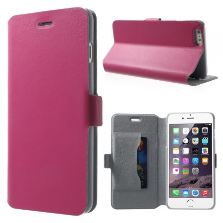 Doormoon Booklet Leather Flip Case Apple iPhone 6 plus (5,5¨), Rose