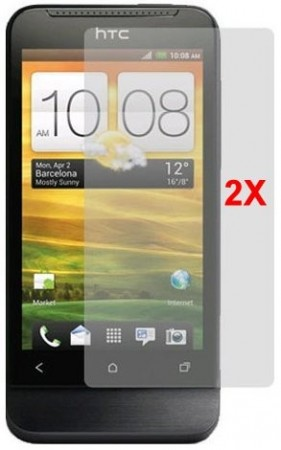 Screen Protector for HTC One V, 2pk.