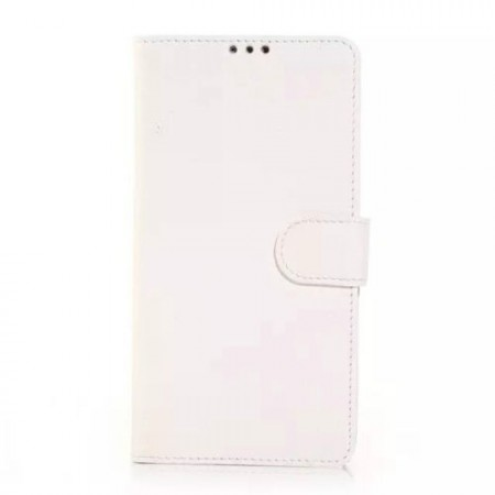Wallet PU Leather Case for Samsung Galaxy Note 4, White