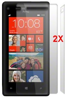 Screen Protector for HTC Windows Phone 8X, 2pack