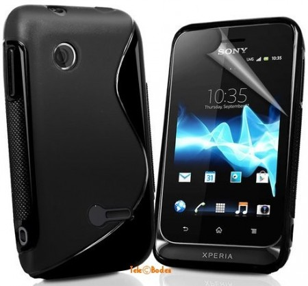 Flexi Shield Skin for Sony Xperia™ Tipo,*S-line*