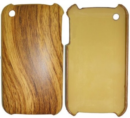 Hard Back Case for Apple iPhone 3G/S, *Wooden-look*