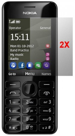 Screen Protector Nokia 206, 2pack