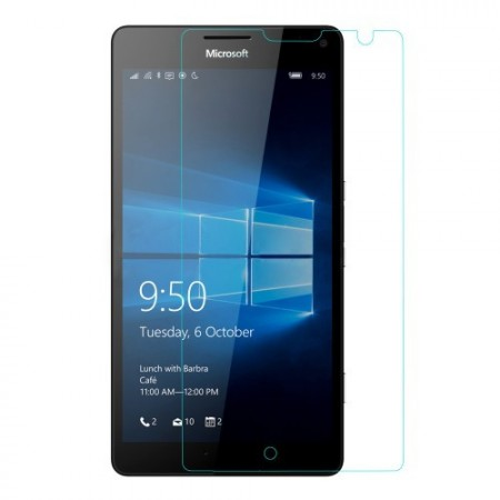 Tempered Glass Screen Protector Film for Microsoft Lumia 950 XL, 0.25mm (Arc Edge)