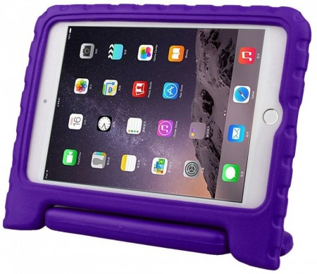Anti Shock Protection Case for Apple iPad Mini 4, ¨Carry¨, Purple