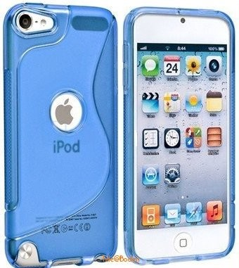Flexi Shield Skin for Apple iPod Touch 5, *O-S-line*, Blue
