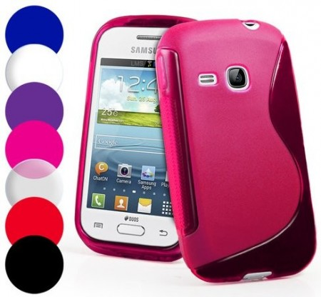 Flexi Shield Skin Samsung Galaxy Young 2 (S6310), *S-line*
