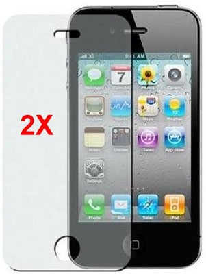 Screen Protector for Apple iPhone 4/4S, 2pack