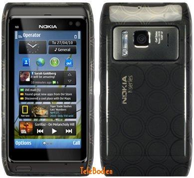 Flexi Shield Skin for Nokia N8-00, *Circle*