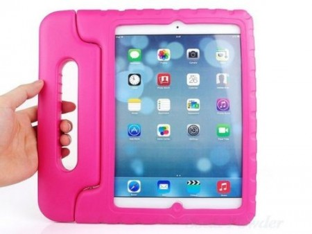 Anti Shock Protection Case for Apple iPad Air 2,¨Carry¨, Rose