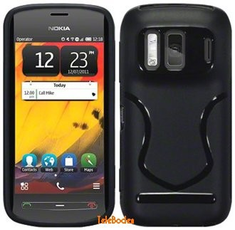 Flexi Shield Skin for Nokia 808 PureView, *Badge*