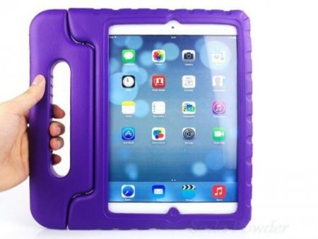 Anti Shock Protection Case for Apple iPad Air 2,¨Carry¨, Purple