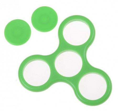 D.I.Y. frame shell for Fidget Spinner, Green