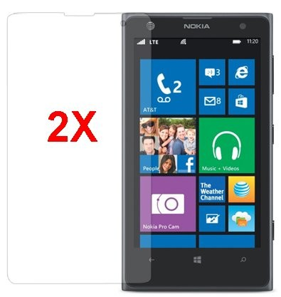 Screen Protector for Nokia Lumia 1020, 2pack