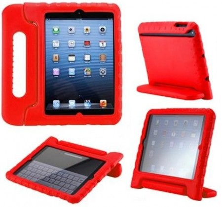 "Anti Shock Protection Case, Apple iPad Pro 12.9"", Red"