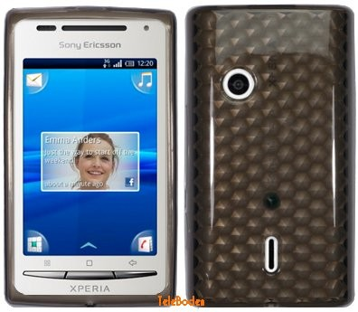 Flexi Shield Skin Sony Eric. Xperia™ X8, *Hexagon*