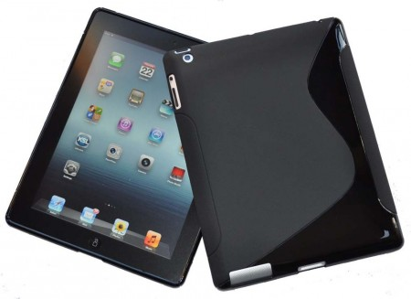 Flexi Shield Skin for Apple iPad Mini, *S-line*, Black