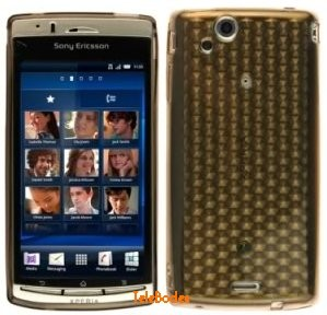 Flexi Shield Skin Sony Eric. Xperia™ Arc, *Hexagon*