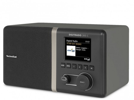 TechniSat DigitRadio 300C DAB+/DAB/FM, Black