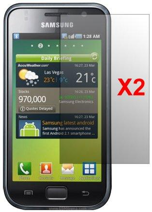 Screen Protector Samsung Galaxy S, 2pack