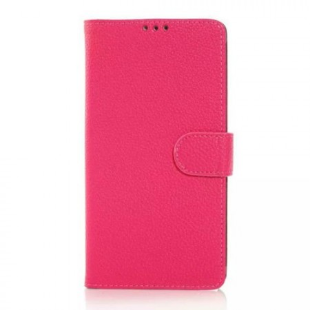 Wallet PU Leather Case for Samsung Galaxy Note 4, Rose