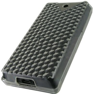 Flexi Shield Skin for HTC Touch Diamond 2, Black