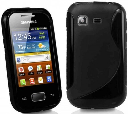 Flexi Shield Skin for Samsung Galaxy Pocket Plus, *S~line*