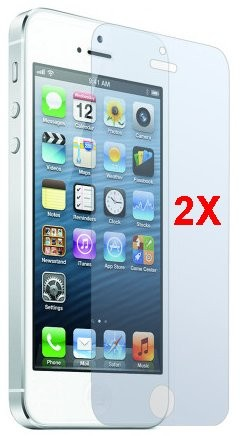 Screen Protector for Apple iPhone 5s, 2pack