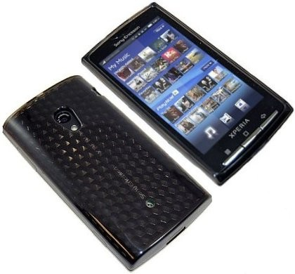 Flexi Shield Skin Sony Eric. Xperia™ X10, Black