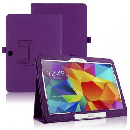 Booklet PU Leather Case Samsung Galaxy Tab 4-10.1,Purple