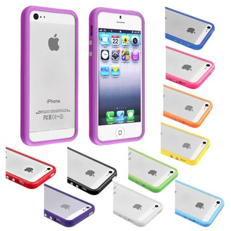 Bumper Case for Apple iPhone SE/5/5s,*Solid*
