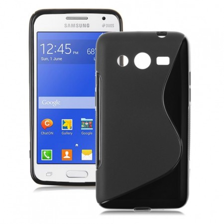 Flexi Shield Skin for Samsung Galaxy Core II/2 (G355F), *S~line*