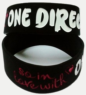 Wristband *One Direction*, Black