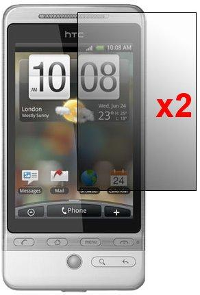 Screen Protector for HTC Hero, 2pack