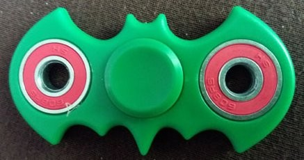 Fidget Spinner ¨Batman¨, Green
