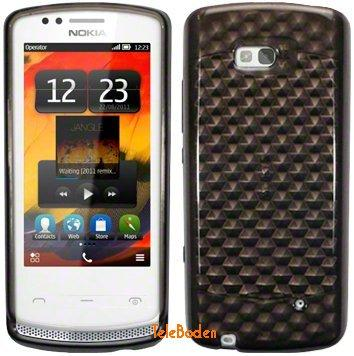 Flexi Shield Skin Nokia 700, *Hexagon*