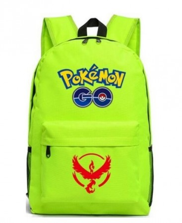 Ryggsekk Pokémon GO ¨Team Valor¨,Neon Green