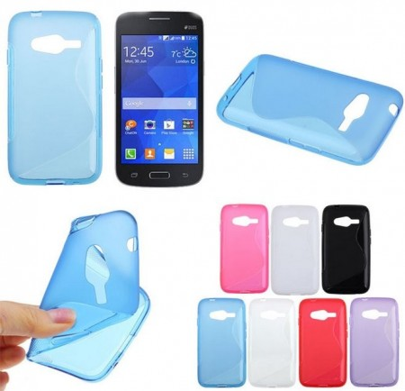Flexi Shield Skin for Samsung Galaxy Trend 2 Lite (G313HN), *S-line*