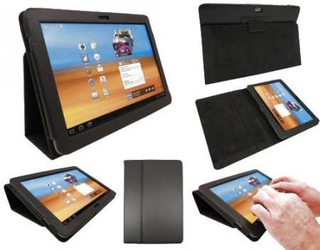 Booklet PU case for Samsung Galaxy Tab 10.1 (P7500/P7510)