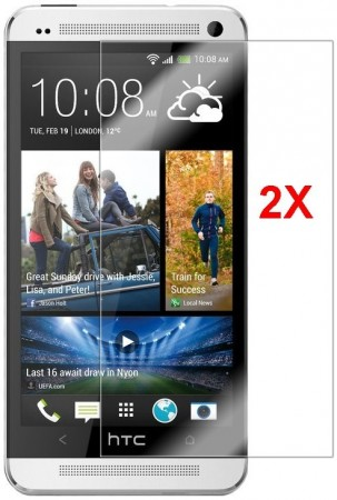 Screen Protector for HTC One mini (M4), 2pack