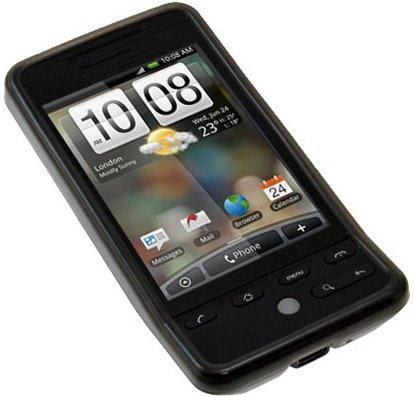 Flexi Shield Skin for HTC Hero, Black