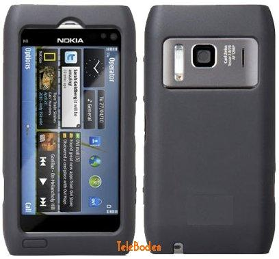 Silicon Skin Case for Nokia N8-00, Grey