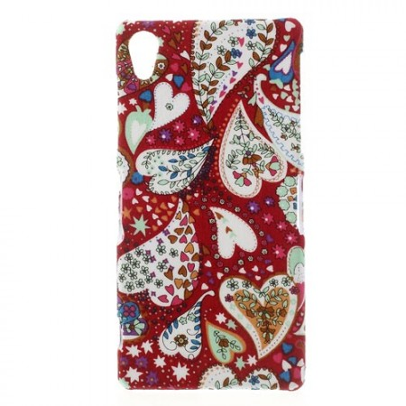 Hard Back Case for Sony Xperia™ Z2, Hearts