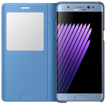 Original S View Cover for Samsung Galaxy Note 7, Blue