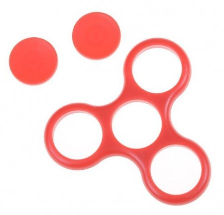 D.I.Y. frame shell for Fidget Spinner, Red