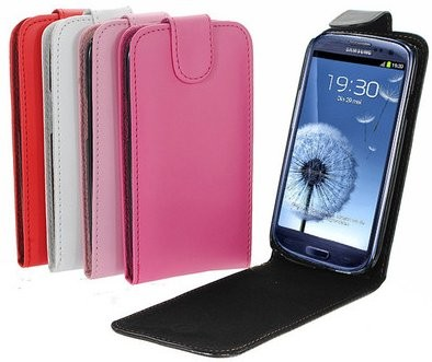 Flip PU Leather Case for Samsung Galaxy S III