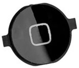 Orig. home button Apple iPhone 4/4S, Black